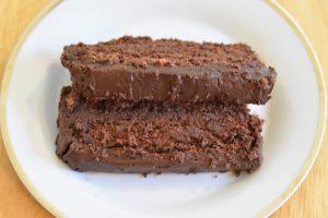 Chocolate-nut cake